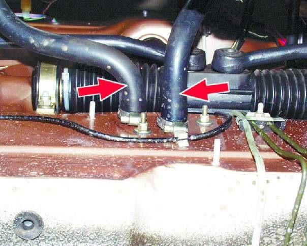 4. Шланг и подводящую трубу