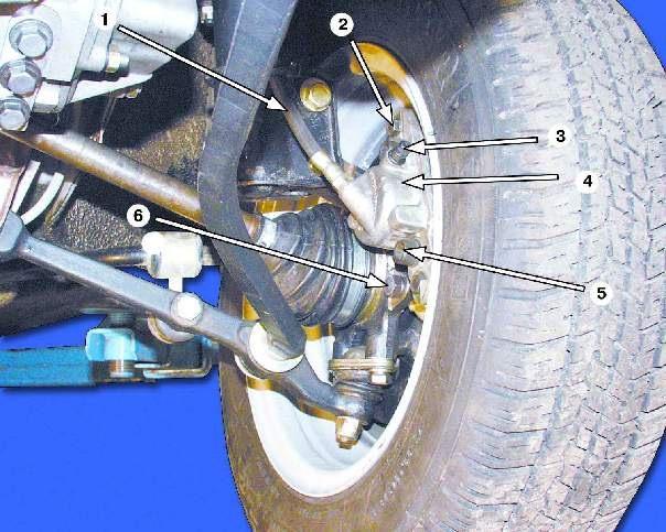 Фото №23 - греется переднее колесо ВАЗ 2110